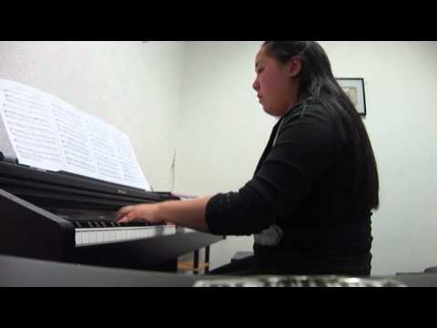 Catherine Chen University Of New England, Bachelor of Music Audition