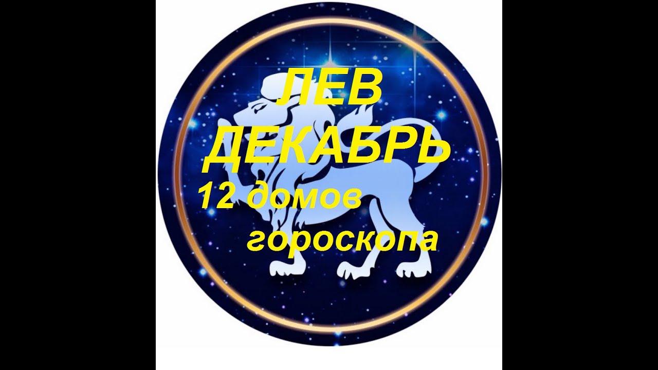 ЛЕВ ДЕКАБРЬ 12 ДОМОВ ГОРОСКОПА