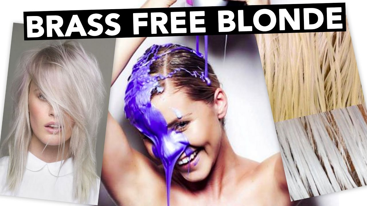 Diy Brass Free Blonde Hair How To Tone Extensions Youtube