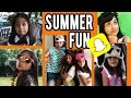 Summer Fun :  SNAPCHAT STORIES // GEM Sisters