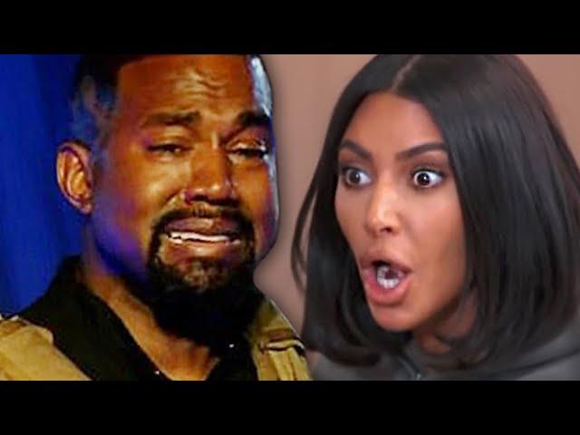 Kanye West Slams Kim Kardashian & Kris Jenner In Viral Twitter Rant