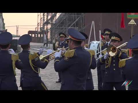 Военный оркестр из