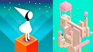 MONUMENT VALLEY - Gameplay Walkthrough Part 1 (iPhone, iPad, iOS, Android Game)