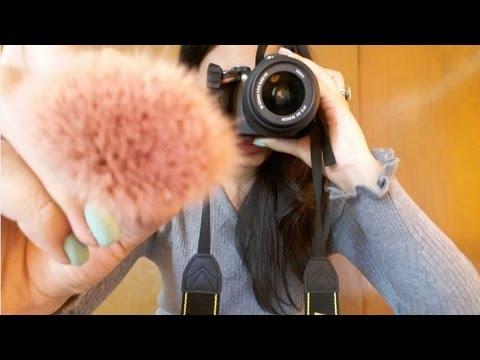 Sesión de fotos ASMR Roleplay ❤ (maquillaje, sonidos, susurros...)