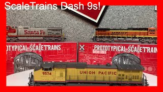 Scale Trains C44-9W Review (Read Disc)