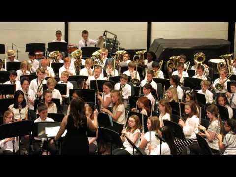 """Elementary Band Spring 2016 (3/4) """"Presto"""""""