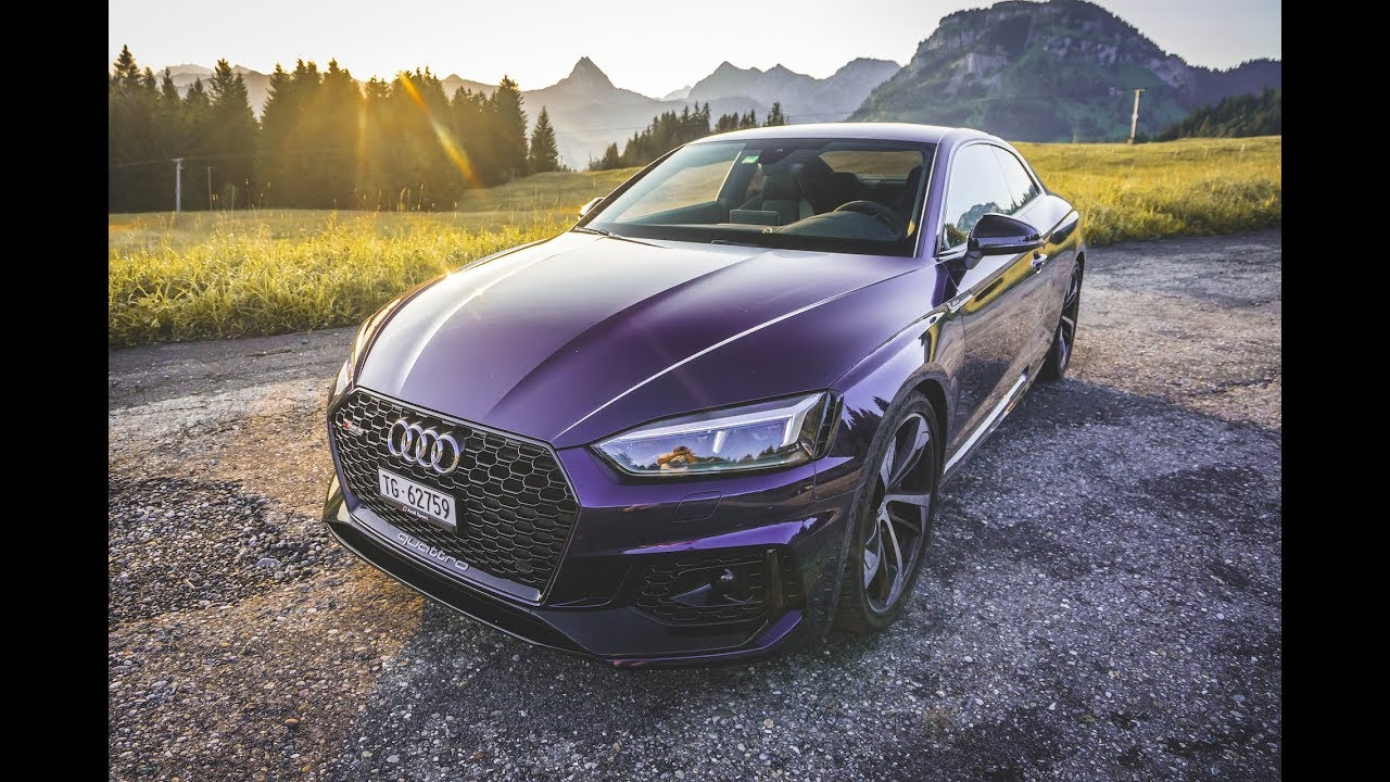2017 Audi Rs5 Top Speed And First Impressions Youtube