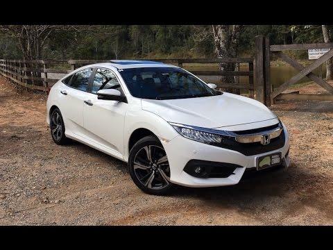 Todos os detalhes do Civic Touring 2017 - Falando de Carro ...