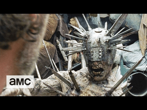 The Walking Dead: 'The SpikeCovered Walker' Talked About  Ep. 710