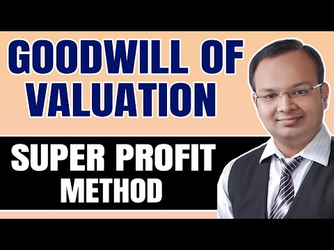 valuation shares and goodwill Z brings in his share of goodwill in cash find value of goodwill of the business if it is based on three years' purchase of average super profit of the past.