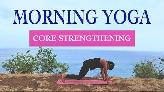 15 minutes Easy Workout for Core Strengthening  | Yoga for Beginners | Yogalates with Rashmi