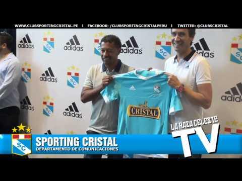 Presentación de la camiseta de Sporting Cristal 2015