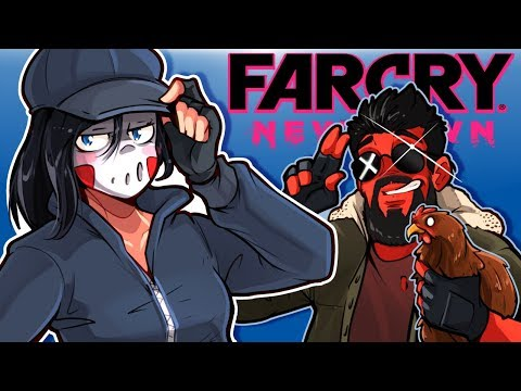 Far Cry: New Dawn - HUNTING ANIMALS & FUNNY MOMENTS!