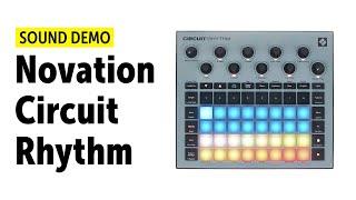 Novation Circuit Rhythm Sound Demo (no talking)