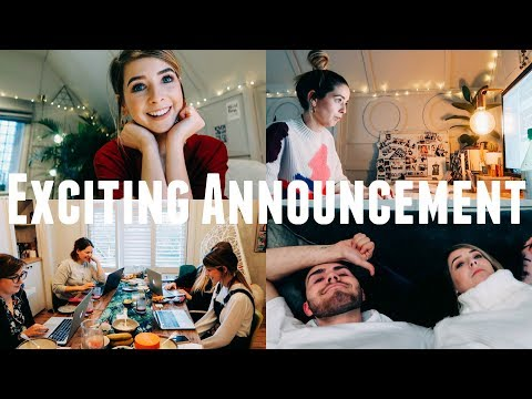 EXCITING ANNOUNCEMENT & FEELING PRODUCTIVE