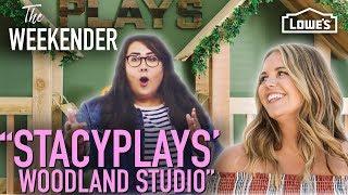 """The Weekender: """"StacyPlays' Woodland Studio"""" (Season 3, Episode 2)"""