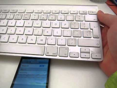 Connect iPhone to Bluetooth Keyboard