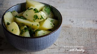 How To Make Potatoes With Butter And Parsley