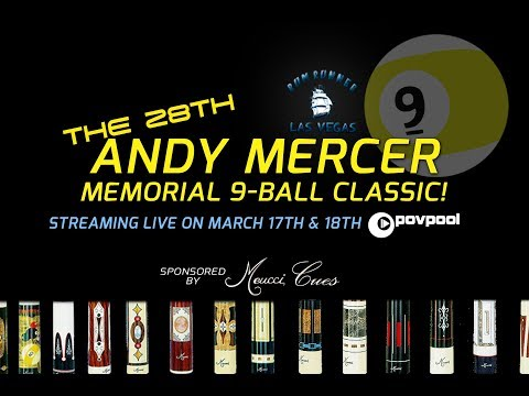The 28th Andy Mercer 9-Ball Classic!