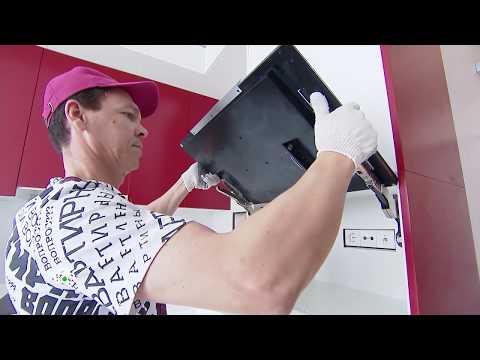 Компактный телевизор, встроенный вместо фасада шкафа в программе «Квартирный Вопрос» на НТВ