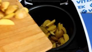 Рецепт приготовления картофеля по-деревенски с грудинкой  в мультиварке VITEK VT-4209 BW