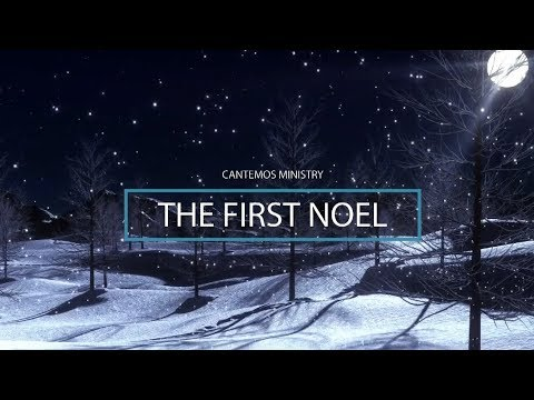 The First Noel - Snowing (La Primera navidad - Nevando) Church Orchestra Instrumental