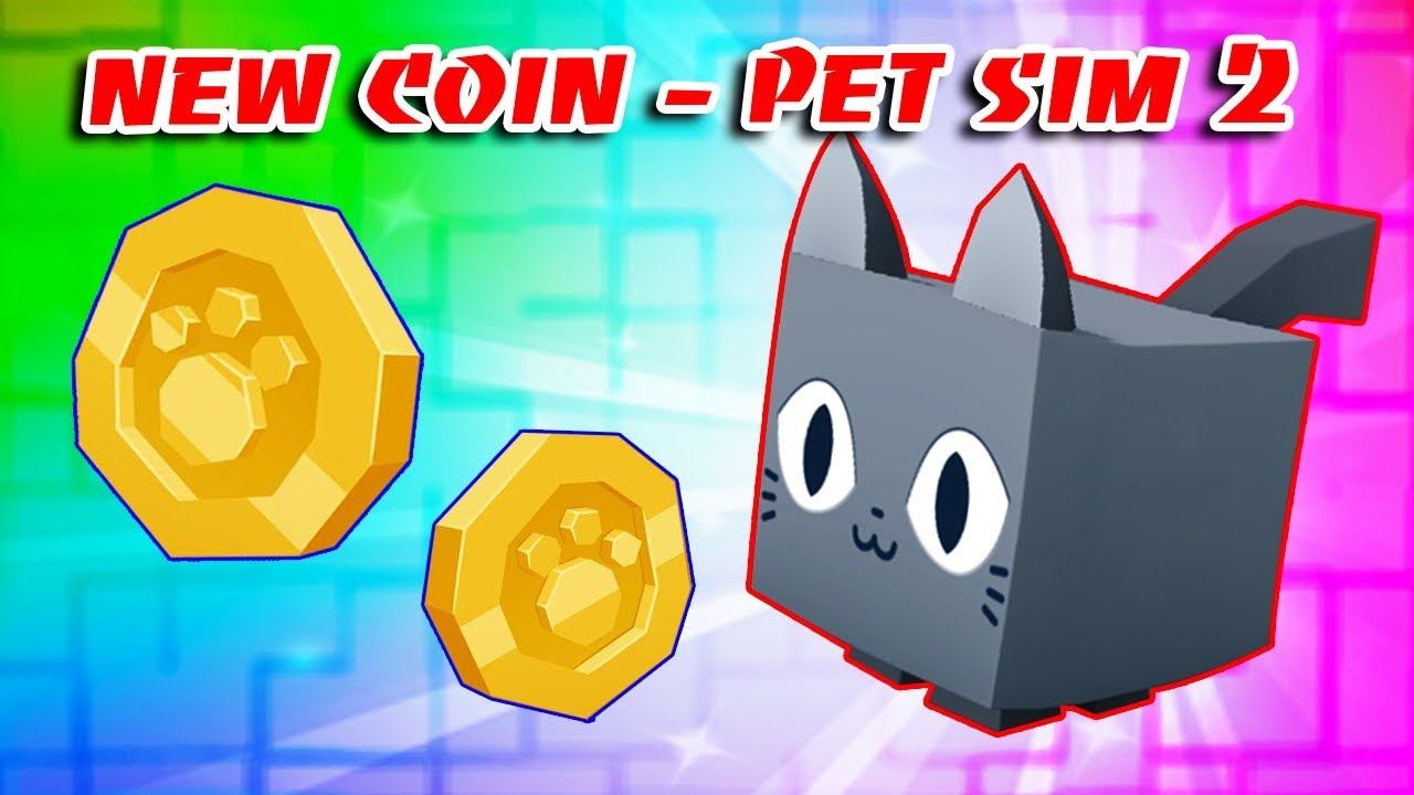 *NEW* COIN REVEALED IN PET SIMULATOR 2 | Roblox!!