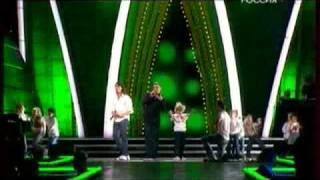 Дискотека Авария - Отцы! (Live IN Песня Года 2008)