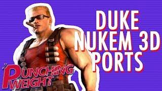 Duke Nukem 3D N64 vs PS1 vs Saturn   Punching Weight [SSFF]