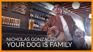 Actor Nicholas Gonzalez Reminds You to Treat Your Dog Like Family