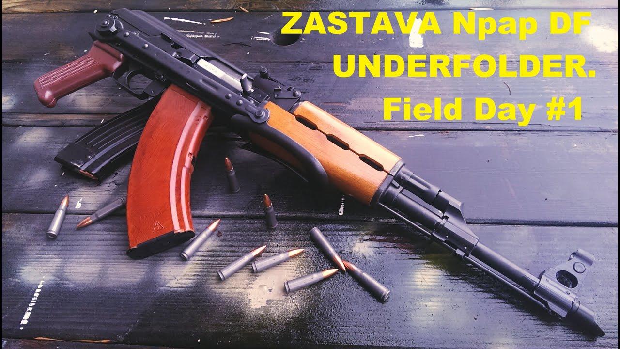 Yugo zastava ak-47 underfolder - YouTube