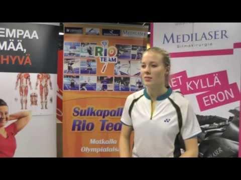 SM - 2015 - Haastattelussa Nanna Vainio