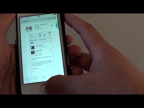 How to setup a gmail account on iphone 5