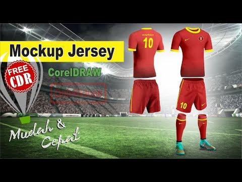 Download Desain Jersey Futsal Printing Cdr - Free PSD Mockups Smart ...