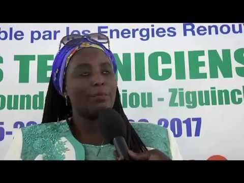 Formation des techniciens locaux du SE Sénégal par énergie R
