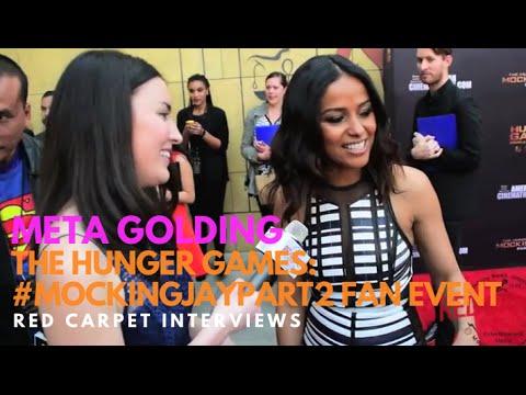 Meta Golding Enobaria at the The Hunger Games: MockingJayPart2  Event HungerGamesCollection
