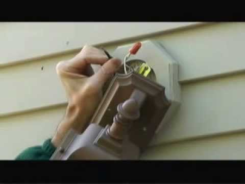 Replacing an Exterior Light Fixture Video - YouTube