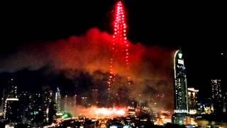 Burj Khalifa New Year 2016 fireworks