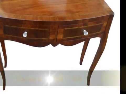Consolle Ingresso Antiquariato.Mobiletti Ingresso Comoncini Consolle Tavolini Con Cassetti Stile Riproduzioni Antiquariato