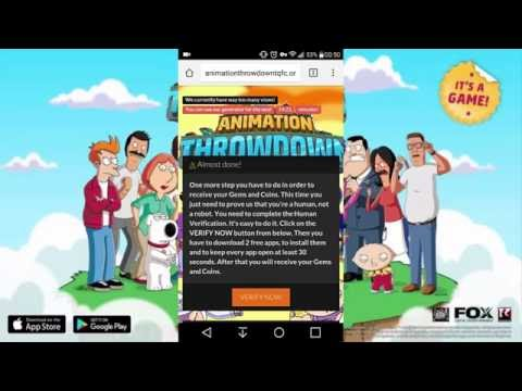 Animation Throwdown TQFC Hack Unlimited Gems Coins Working Android IOS