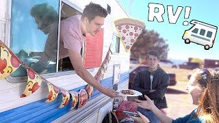 RV PIZZA TRUCK POP UP SHOP!