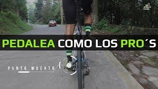Aprende el pedaleo redondo