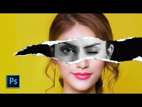 Torn Paper Effect | Photoshop Tutorial