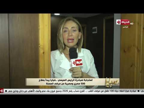 صبايا - ريهام سعيد: ربنا يباركله الرئيس السيسي هو اللي حذرنا من التخن رغم جهل الناس والكوميكسات