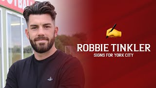 ✍️ Robbie Tinkler signs for York City