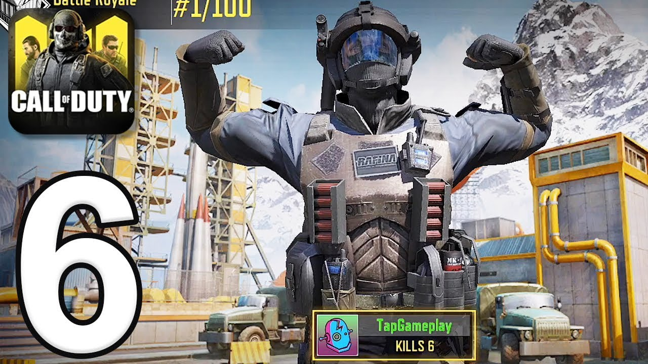 Call of Duty: Mobile - Gameplay Walkthrough Part 6 - Battle Royale (iOS, Android) thumbnail