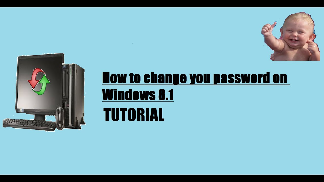 how to change your password on windows 8