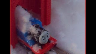 Trackmaster Fisher Price Engine Thomas and Friends Accidents Happen on Sodor Snowy Mountain