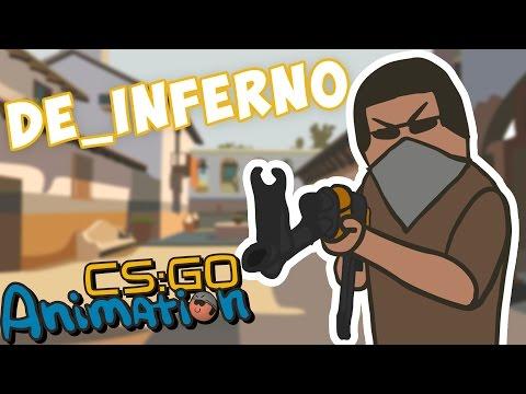 CS ANIMATION: DE_INFERNO (COUNTER-STRIKE PARODY)
