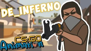 CS ANIMATION: DE_INFERNO (COUNTER-STRIKE PARODY)